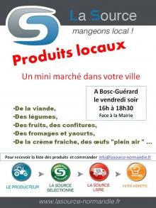 affiche Produits locaux