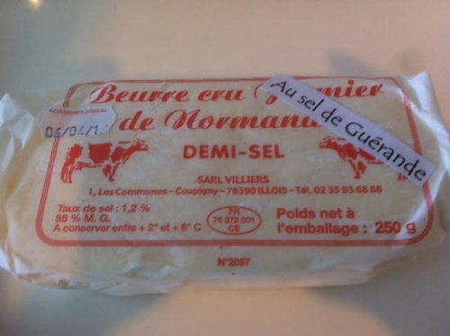 beurre villiers Guerande
