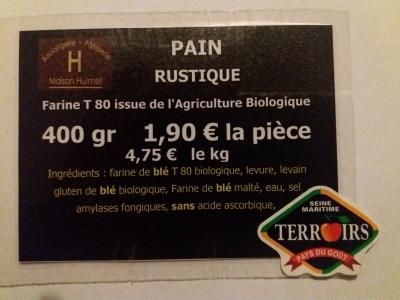 3-PAIN RUSTIQUE 400 gr