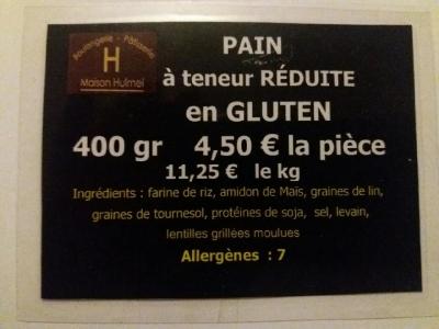 sans gluten etiquette
