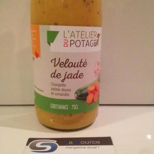soupe courgette, patate, douce et coriandre;;