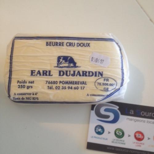 Beurre doux de la ferme Dujardin