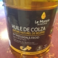 huile de colza au beurre
